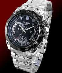 即決ヤクザ悪羅悪羅系腕時計/メンエグ&やくざオラオラ系チョイ悪小物cx-029黒