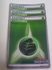 基本くさエネルギー 099/BW-P ポケモンカードゲーム ジム★チャレンジ 3枚セット