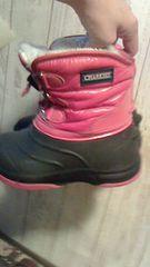 スノーブーツ19�p pink