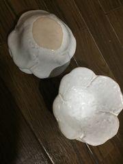 和食器 四つ葉 花びら 白 小鉢 4点セット