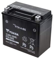 シールド型 バイク用バッテリー YTX14-BS