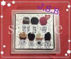 三代目JSoul Brothers☆J.S.B.☆CD.DVDケース白