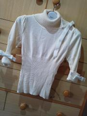 ジーザスディアマンテリボン飾りが可愛いセーター/送料250円