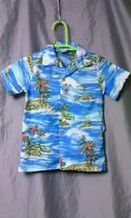 アメリカ古着 アロハシャツ 7 サーフ パームツリー
