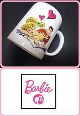 新品バービー原宿購入バービー&ケンマグカップコーヒーカップBarbie