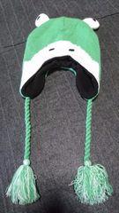 ノーブランド かえるニット帽
