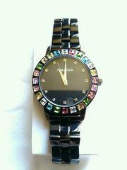 ピンキーガールズ 新品未使用 黒腕時計