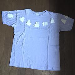 猫ちゃんのゆったり薄手の柔らかTシャツ