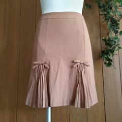 【美品/即決】STRAWBERRY FIELDS(ストロベリーフィールズ)ひざ丈台形スカート