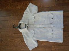 アバハウス 半袖サファリジャケット