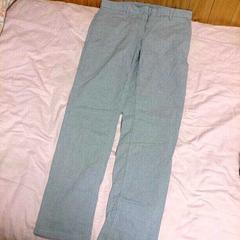 GAP*水色綿素材パンツ*未使用