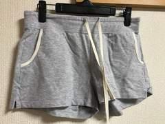 ★UNIQLO グレー×スウェット地ショートパンツ  M★