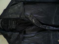 美品 かっこいいレザージャケット