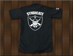 SYNDICATE★ワークシャツ・ギャングスタ★S★黒★新品