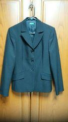 とっても素敵なジャケット。黒。ベネトン。