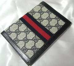 ●本物確実正規 オールドグッチGG柄カード&札入れ財布