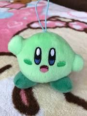 星のカービィ♪マルチカラーミニマスコットぬいぐるみ☆グリーン