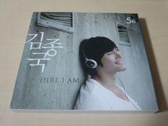 キム・ジョングクCD「5集Here I Am」Kim Jong Kook●