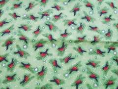 USAコットン 鳥柄50×110