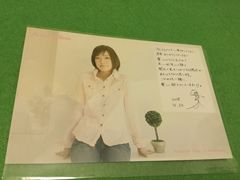 5 川嶋あい ポストカード ファンクラブツアー 2008.4.20 1枚