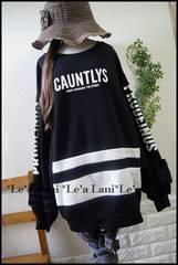 新品*100円〜☆セレカジロゴ袖ファーチュニ*大きいサイズ*4L