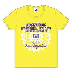 即決 乃木坂46 Tシャツ アンダーライブ全国ツアー 永島 聖羅 XL