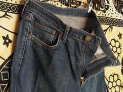 エドウィン503濃紺ジーンズW36デニムパンツ日本製ストレート極美