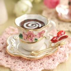 【Piearth/ピィアース】キラキラ高級感♪ジュエリーボックス宝石箱ティーカップ