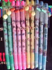 レッツスポーティング柄 ロケット鉛筆 4色10本 未使用品