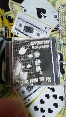 GENERATION MONGOLOID/psychos from the fog�峠イコビリークリームソーダ