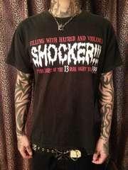 即決SHOCKER×バルザックTシャツ!ホラーパンクロックスラットバンクスGLAYBOUNTYHUNTER
