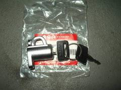 (40)GSX400EGSX250Eザリ純正ヘルメットロック