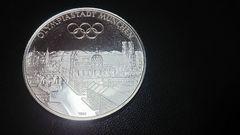 1972ミュンヘンオリンピック記念銀メダル・美品