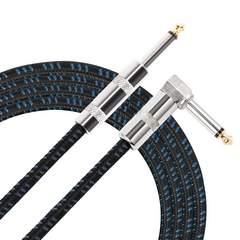 ギター/ベース用ケーブル SL型 ギターシールド 5.5M(ブルー)