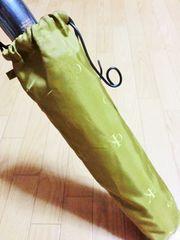 新品カルバンクライン/Calvin Kleロゴ総柄折り畳み傘