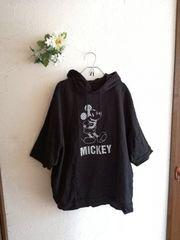 BELLE MAISON☆ゆるりミッキーマウスパーカー美品