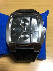 ディーゼル クロノグラフ 腕時計 DZ-4275 電池交換済み