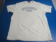 HOLLISTER/ホリスター★メンズ半袖Tシャツ オフホワイト サイズXL