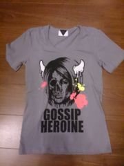 the GazettE「GOSSIP HEROINE/Tシャツ」BLACK MORAL
