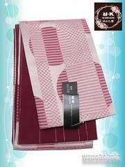 【和の志】RKブランド◇浴衣用小袋帯◇ピンク系◇YKB-112