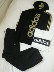 adidas アディダス パーカー パンツ Tシャツ 3点セット