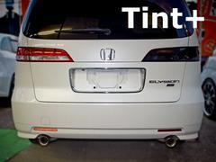 Tint+再利用できる エリシオン RR1 テールランプ スモークフィルム