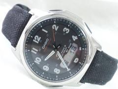 5229/CASIOカシオ★waveceptorウェブセプタータフソーラー電波時計高級思考