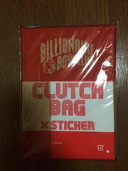 BILLIONAIRE BOYS CLUB CLUTCH BAG 新品未開封
