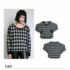 新品 Xfrm gallery 流行ビッグサイズ ドルマンニットセーター