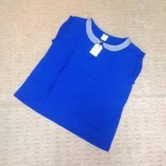 新品タグ付き☆ビュルデサボン 襟付き半袖カットソー