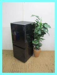 シャープ冷蔵庫(137L・つけかえどっちもドア)SJ-D14B-Bブラック2016年製