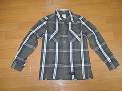 WTAPSダブルタップスUNIONチェックネルシャツS161