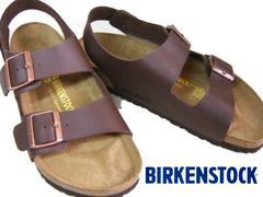 BIRKENSTOCKビルケンシュトック新品MILANOミラノ034701濃茶40