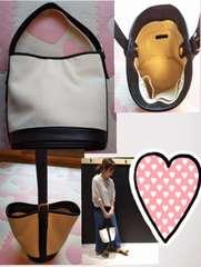 レプシィム 2wayバッグ バケツ&トート美品 ホワイト